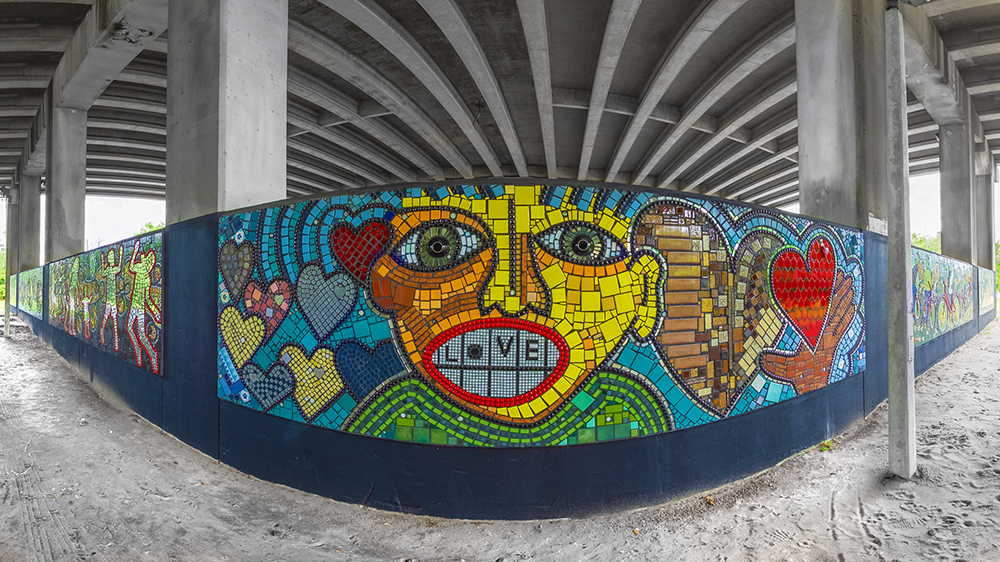 Sugar Hill Mosaic Art Installation
