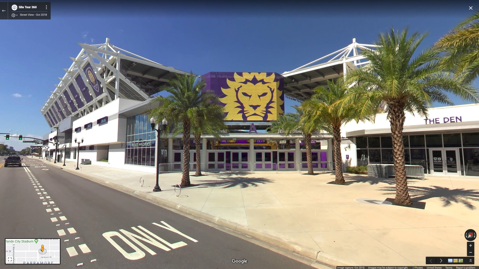 Orlando City Stadium After