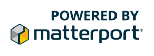 Powered by Matterport badge