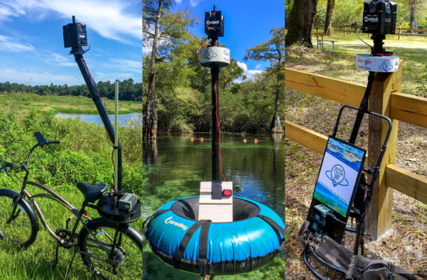 Street View Without Limits: 360 Camera Mounts for Various Topography Types